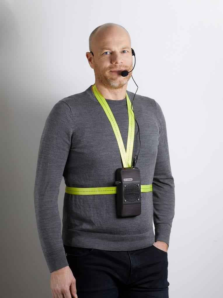 Crevoice Mini - Röstförstärkare med bälte