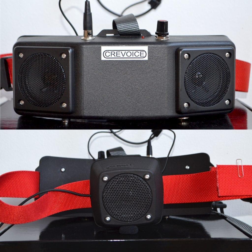 Crevoice TWIN Röstförstärkare - 3 högtalare